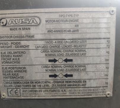 Дъмпер Ausa 200RH 2 Ton - image 7