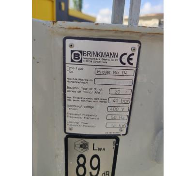 Машина за мазилка Brinkmann Projet Mix D4 image 1
