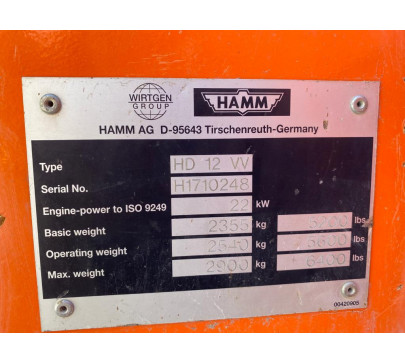 Двубандажен валяк Hamm HD12 VV image 12