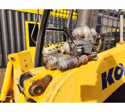 Мини челен товарач Komatsu SK714 / 1202 реални мото часа  image 10