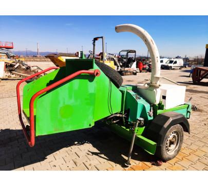 Дробилка за клони GreenMech Eco Combi 150, ремарке  image 1