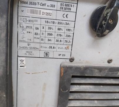 Електрожен бензинов Cebora MMA3535 image 1