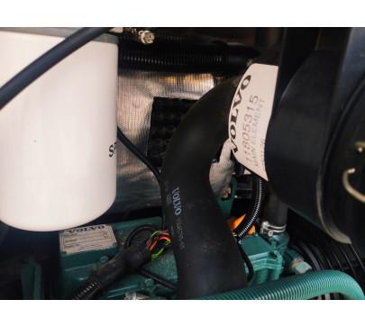 Мини багер Volvo EC15C / 2348 реални мото часа  image 11