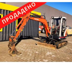Мини багер 3600 кг Kubota KX101-3