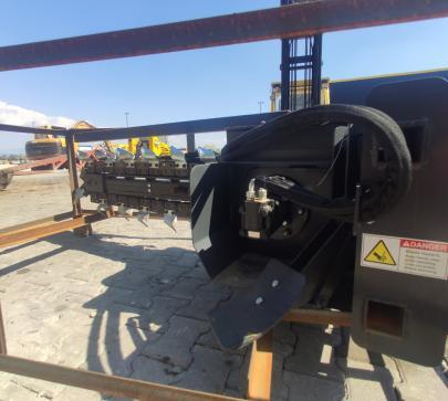 Каналокопател за мини челен товарач  image 3