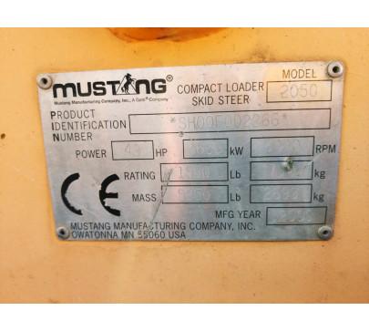 Мини Челен Товарач Mustang 2050 / 4580 реални мото часа image 16