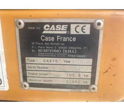 Верижен багер Case CX210 image 8