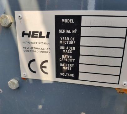Мотокар с газ Heli HFG 30C image 4