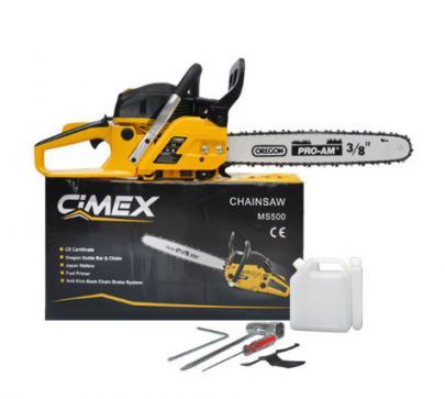 Моторен трион 50 см., шина CIMEX