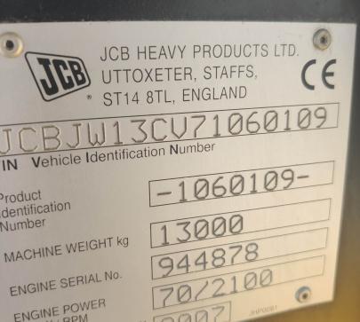 Колесен багер JCB JS 130W ПО ДОГОВАРЯНЕ  image 9