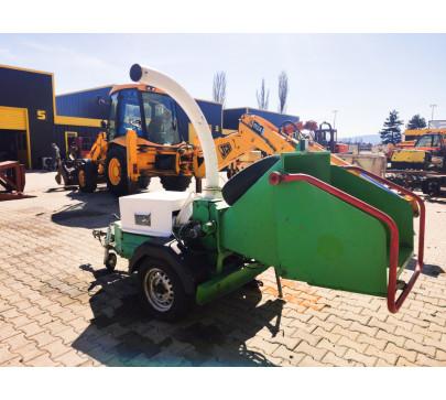 Дробилка за клони GreenMech Eco Combi 150, ремарке  image 2