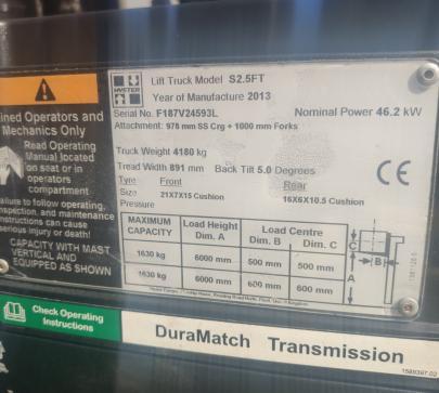 Mотокар Hyster S2.5FT  - Цена по ДОГОВАРЯНЕ image 8