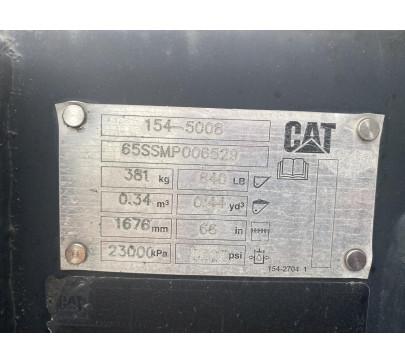 Кофа за мини челен товарач Caterpillar 3 в 1  image 2
