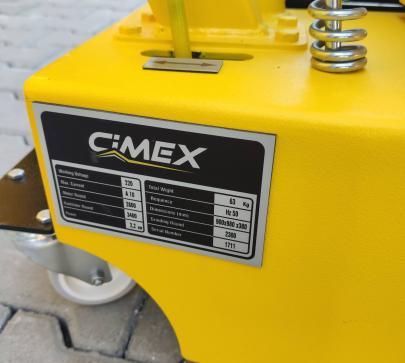 Валова шлайф машина за циклене, 20 см., 2300 об./мин. image 2