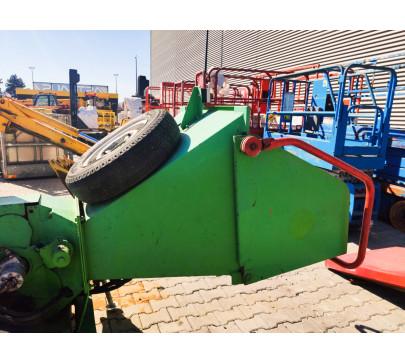 Дробилка за клони GreenMech Eco Combi 150, ремарке  image 5