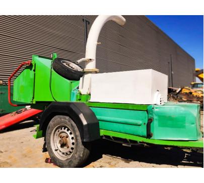 Дробилка за клони GreenMech Eco Combi 150, ремарке  image 3