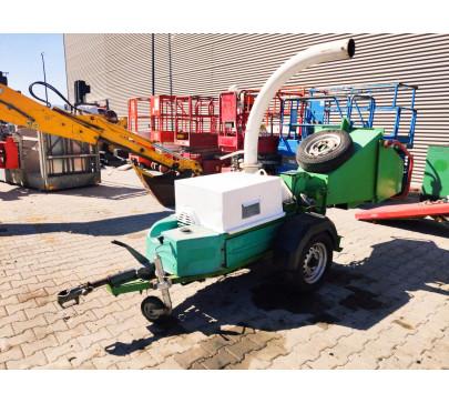 Дробилка за клони GreenMech Eco Combi 150, ремарке  image 4