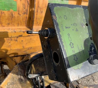 Дъмпер 4000 кг Benford PT4000 / 975 реални мото часа  image 6